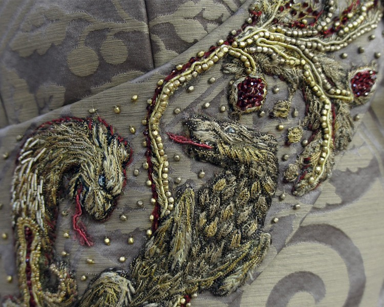 5 - SANSA'S WEDDING DRESS EMBROIDERY BY MICHELE CARRAGHER