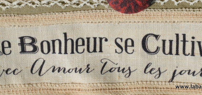 Dentelles et mots doux le sac Brocante de Catherine Tourel
