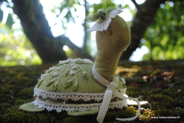 Le retour de Rose, la tortue, cadeau du mois de janvier