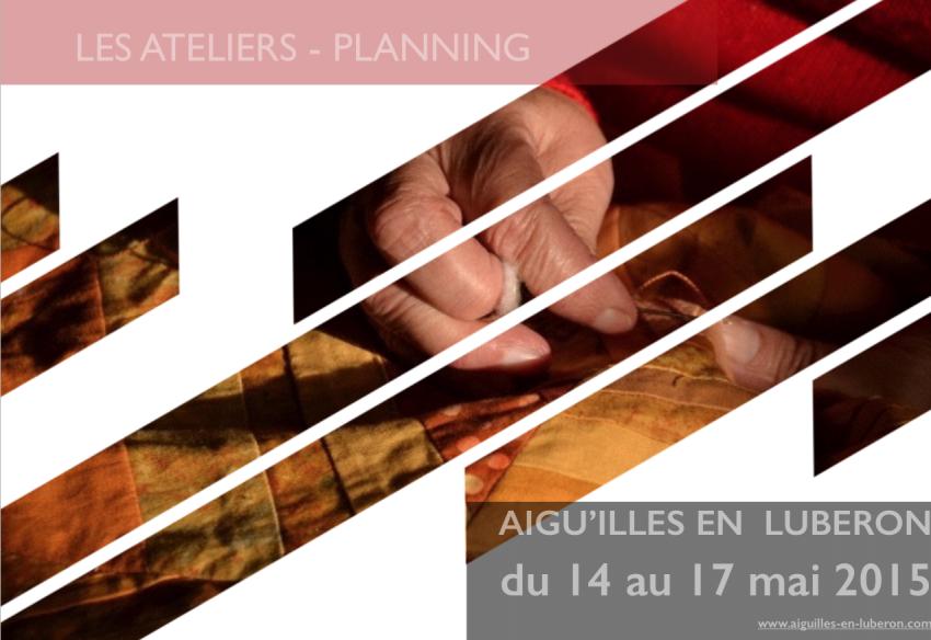 Ateliers 2015