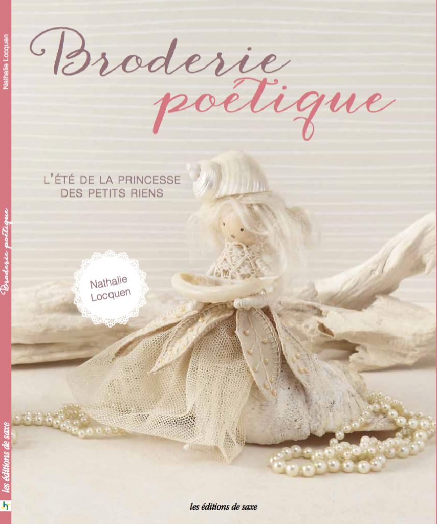 Princesse des petits riens broderie poétique Nathalie Locquen