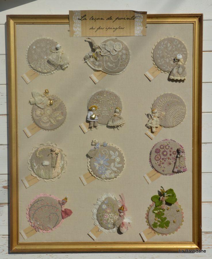 broderie poétique l'été de la princesse des petits riens Nathalie Locquen