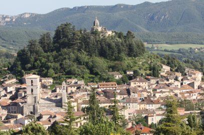 Ce week end, je serai à Forcalquier