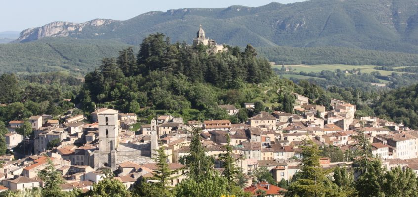 Ce week end, je serai à Forcalquier