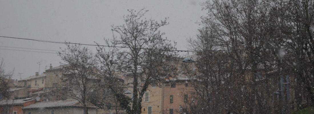 Magie d'un hiver en Provence